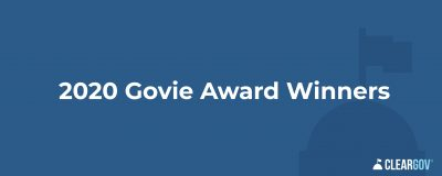 2020 Govie Award Winners