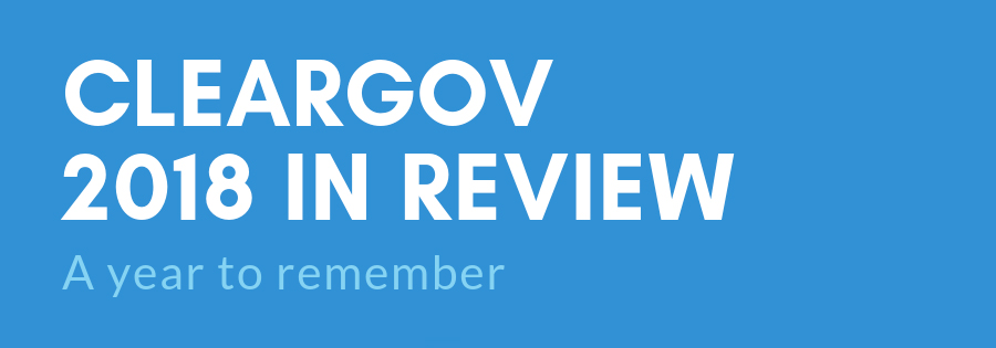 2018 cleargov year in review