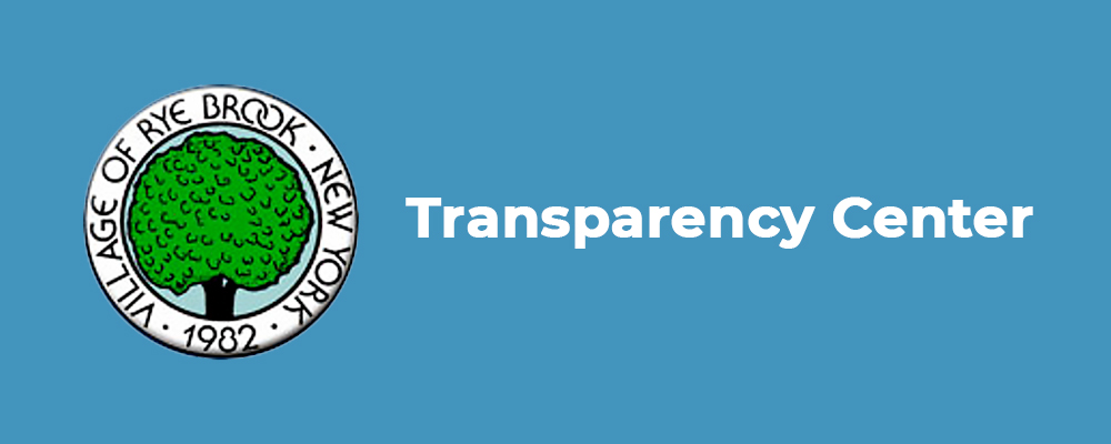 rye brook, NY financial transparency center
