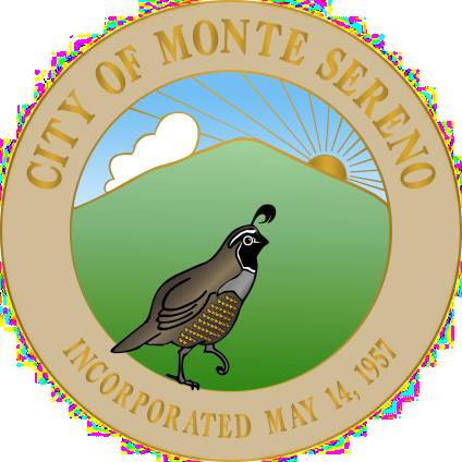Monte Sereno, CA Seal