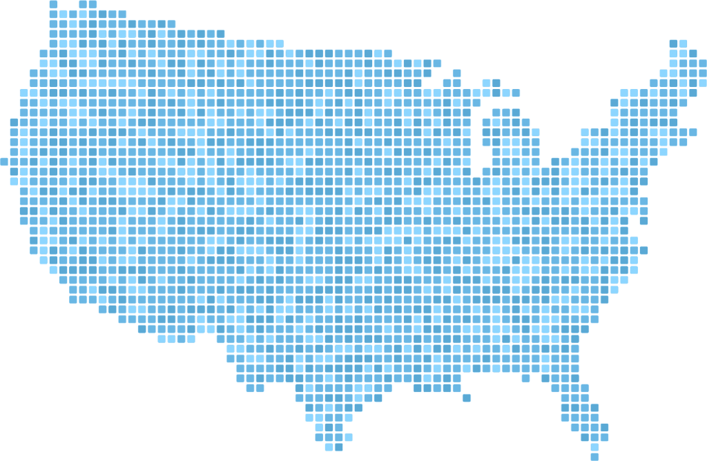 USA Dot Map