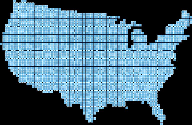 USA Dot Map