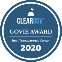 2020 Best Transparency Center