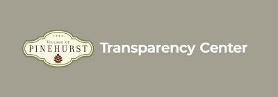 village of pinehurst, nc financial transparency center