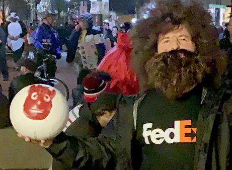 ClearGov's Ryan Wilson in Castaway Costume